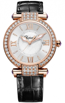 Chopard Imperiale Quartz 36mm Ladies watch, model number - 384221-5002, discount price of £18,445.00 from The Watch Source