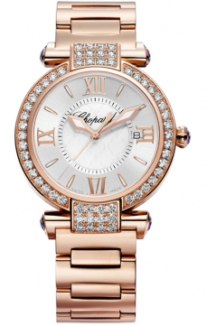 Chopard Imperiale Quartz 36mm Ladies watch, model number - 384221-5004, discount price of £27,922.00 from The Watch Source