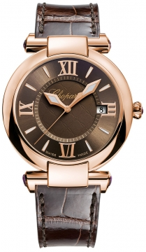 Chopard Imperiale Quartz 36mm Ladies watch, model number - 384221-5009, discount price of £8,415.00 from The Watch Source
