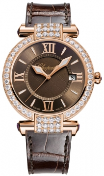 Chopard Imperiale Quartz 36mm Ladies watch, model number - 384221-5011, discount price of £18,445.00 from The Watch Source