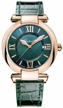 Chopard Imperiale Quartz 36mm Ladies watch, model number - 384221-5013, discount price of £8,415.00 from The Watch Source