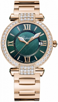 Chopard Imperiale Quartz 36mm Ladies watch, model number - 384221-5016, discount price of £26,588.00 from The Watch Source