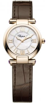 Chopard Imperiale Quartz 28mm Ladies watch, model number - 384238-5001, discount price of £6,069.00 from The Watch Source