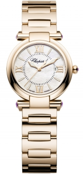 Chopard Imperiale Quartz 28mm Ladies watch, model number - 384238-5002, discount price of £13,005.00 from The Watch Source