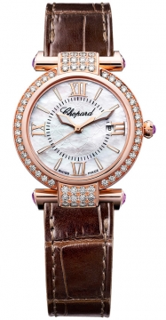 Chopard Imperiale Quartz 28mm Ladies watch, model number - 384238-5003, discount price of £10,291.00 from The Watch Source