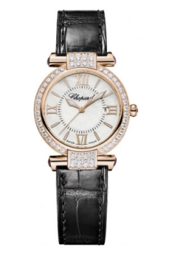 Chopard Imperiale Quartz 28mm Ladies watch, model number - 384238-5003b, discount price of £10,291.00 from The Watch Source