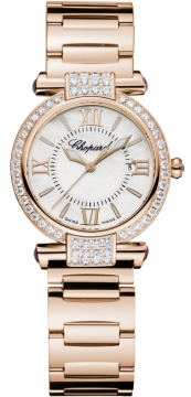 Chopard Imperiale Quartz 28mm Ladies watch, model number - 384238-5004, discount price of £17,956.00 from The Watch Source