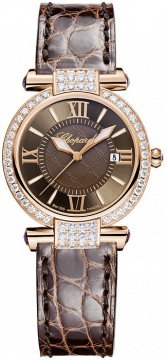 Chopard Imperiale Quartz 28mm Ladies watch, model number - 384238-5007, discount price of £10,667.00 from The Watch Source
