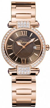 Chopard Imperiale Quartz 28mm Ladies watch, model number - 384238-5008, discount price of £17,322.00 from The Watch Source