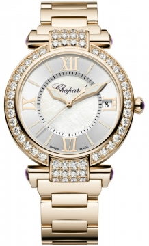 Chopard Imperiale Automatic 40mm Ladies watch, model number - 384241-5004, discount price of £38,496.00 from The Watch Source