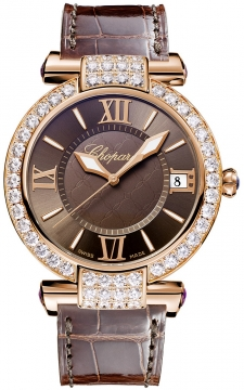 Chopard Imperiale Automatic 40mm Ladies watch, model number - 384241-5007, discount price of £29,741.00 from The Watch Source