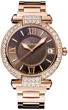 Chopard Imperiale Automatic 40mm Ladies watch, model number - 384241-5008, discount price of £35,358.00 from The Watch Source