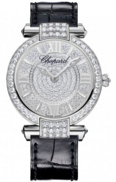 Chopard Imperiale Quartz 36mm Ladies watch, model number - 384242-1001, discount price of £38,930.00 from The Watch Source