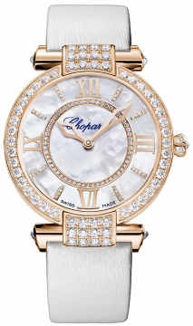 Chopard Imperiale Automatic 36mm Ladies watch, model number - 384242-5005, discount price of £27,064.00 from The Watch Source