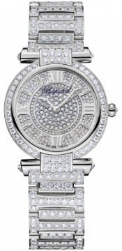Chopard Imperiale Quartz 28mm Ladies watch, model number - 384280-1002, discount price of £78,625.00 from The Watch Source