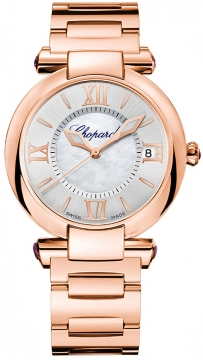 Chopard Imperiale Automatic 36mm Ladies watch, model number - 384822-5003, discount price of £15,112.00 from The Watch Source