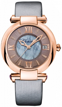 Chopard Imperiale Automatic 36mm Ladies watch, model number - 384822-5005, discount price of £8,882.00 from The Watch Source