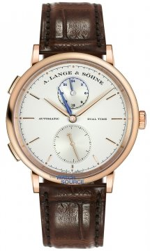 A. Lange & Sohne Saxonia Dual Time 40mm Mens watch, model number - 385.032, discount price of £19,800.00 from The Watch Source