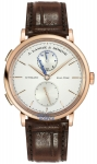 A. Lange & Sohne Saxonia Dual Time 40mm 385.032 watch