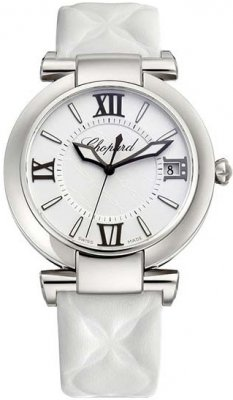 Buy this new Chopard Imperiale Automatic 40mm 388531-3007 ladies watch for the discount price of £4,216.00. UK Retailer.