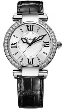 Chopard Imperiale Quartz 36mm Ladies watch, model number - 388532-3003, discount price of £8,449.00 from The Watch Source