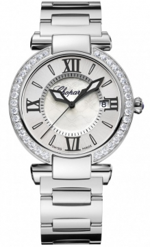 Chopard Imperiale Quartz 36mm Ladies watch, model number - 388532-3004, discount price of £8,430.00 from The Watch Source