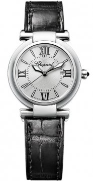 Buy this new Chopard Imperiale Quartz 28mm 388541-3001 ladies watch for the discount price of £2,728.00. UK Retailer.