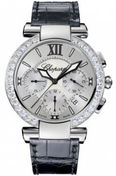 Chopard Imperiale Automatic Chronograph 40mm Ladies watch, model number - 388549-3003, discount price of £14,025.00 from The Watch Source
