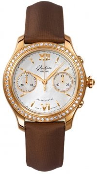 Glashutte Original Lady Serenade Chronograph Ladies watch, model number - 39-34-11-11-44, discount price of £13,440.00 from The Watch Source