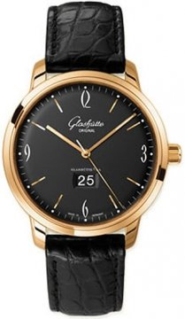 Glashutte Original Senator Sixties Panorama Date Mens watch, model number - 39-47-02-01-04, discount price of £10,506.00 from The Watch Source