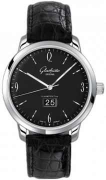 Glashutte Original Senator Sixties Panorama Date Mens watch, model number - 39-47-03-02-04, discount price of £5,278.00 from The Watch Source