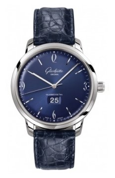 Glashutte Original Senator Sixties Panorama Date Mens watch, model number - 39-47-06-02-04, discount price of £5,125.00 from The Watch Source