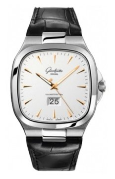 Glashutte Original Senator Seventies Panorama Date Mens watch, model number - 39-47-11-12-04, discount price of £5,822.00 from The Watch Source