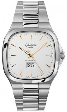 Glashutte Original Senator Seventies Panorama Date Mens watch, model number - 39-47-11-12-14, discount price of £6,375.00 from The Watch Source