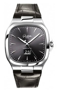 Glashutte Original Senator Seventies Panorama Date Mens watch, model number - 39-47-12-12-04, discount price of £5,822.00 from The Watch Source