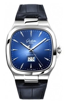 Glashutte Original Senator Seventies Panorama Date Mens watch, model number - 39-47-13-12-04, discount price of £5,615.00 from The Watch Source
