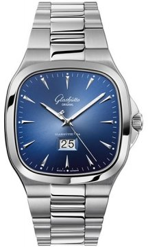 Glashutte Original Senator Seventies Panorama Date Mens watch, model number - 39-47-13-12-14, discount price of £6,375.00 from The Watch Source