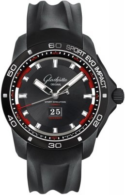 Glashutte Original Sport Evolution Impact Panorama Date 39-47-16-16-54 watch