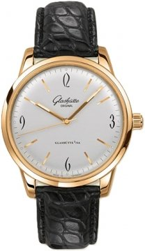 Glashutte Original Senator Sixties  Mens watch, model number - 39-52-01-01-04, discount price of £8,245.00 from The Watch Source