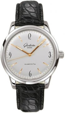Glashutte Original Senator Sixties  Mens watch, model number - 39-52-01-02-04, discount price of £3,935.00 from The Watch Source
