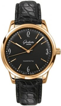 Glashutte Original Senator Sixties  Mens watch, model number - 39-52-02-01-04, discount price of £8,245.00 from The Watch Source