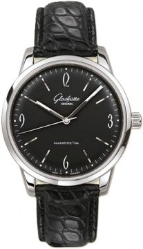 Glashutte Original Senator Sixties  Mens watch, model number - 39-52-04-02-04, discount price of £4,080.00 from The Watch Source