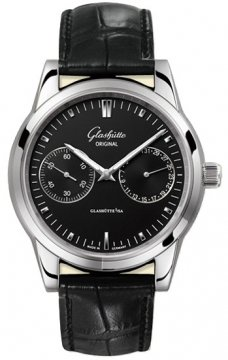 Glashutte Original Senator Hand Date Mens watch, model number - 39-58-01-02-04, discount price of £3,370.00 from The Watch Source