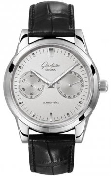 Glashutte Original Senator Hand Date Mens watch, model number - 39-58-02-02-04, discount price of £3,370.00 from The Watch Source