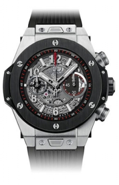 Hublot Big Bang UNICO 45mm Mens watch, model number - 411.nm.1170.rx, discount price of £13,200.00 from The Watch Source