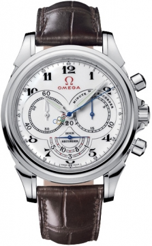 Omega De Ville Co-Axial Chronograph Mens watch, model number - 422.13.41.50.04.001 Olympic Edition Timeless Collection, discount price of £4,030.00 from The Watch Source