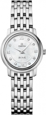 Buy this new Omega De Ville Prestige 24.4mm 424.10.24.60.55.001 ladies watch for the discount price of £2,169.00. UK Retailer.