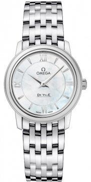 Omega De Ville Prestige 27.4mm Ladies watch, model number - 424.10.27.60.05.001, discount price of £1,415.00 from The Watch Source