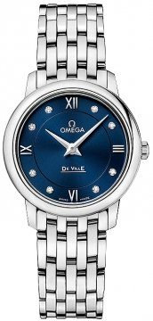 Buy this new Omega De Ville Prestige 27.4mm 424.10.27.60.53.001 ladies watch for the discount price of £1,764.00. UK Retailer.