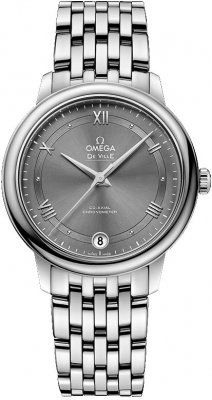 Buy this new Omega De Ville Prestige Co-Axial 32.7 424.10.33.20.06.001 ladies watch for the discount price of £2,673.00. UK Retailer.